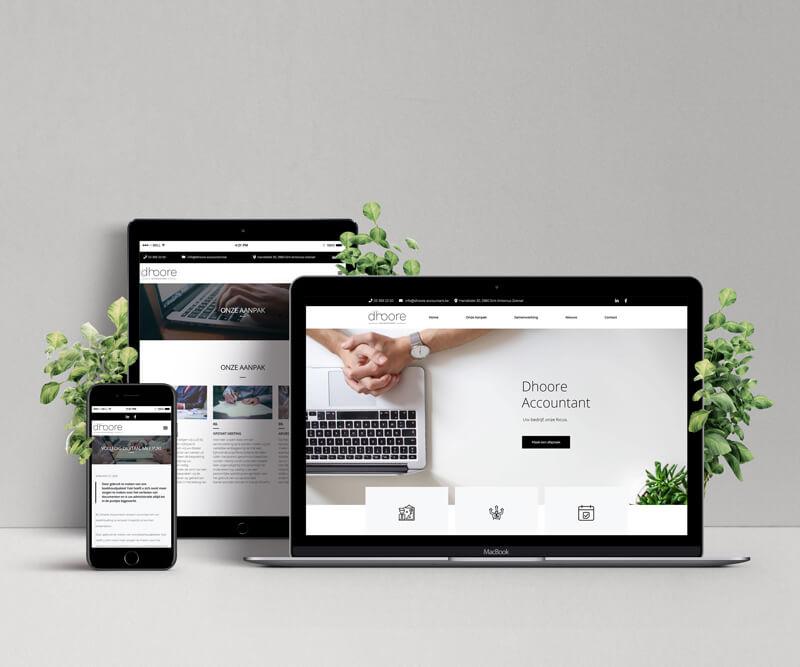 Dhooreaccountant Webdesign