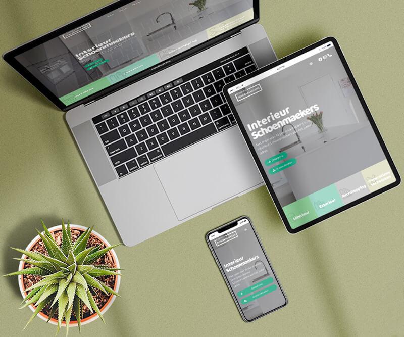 Interieurschoenmaekers Webdesign