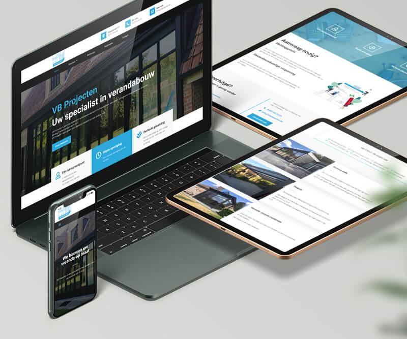 VBProjecten Webdesign