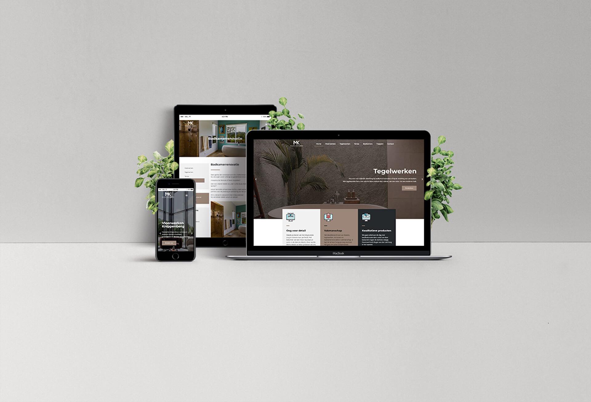 Webdesign Vloerwerken Knippenberg