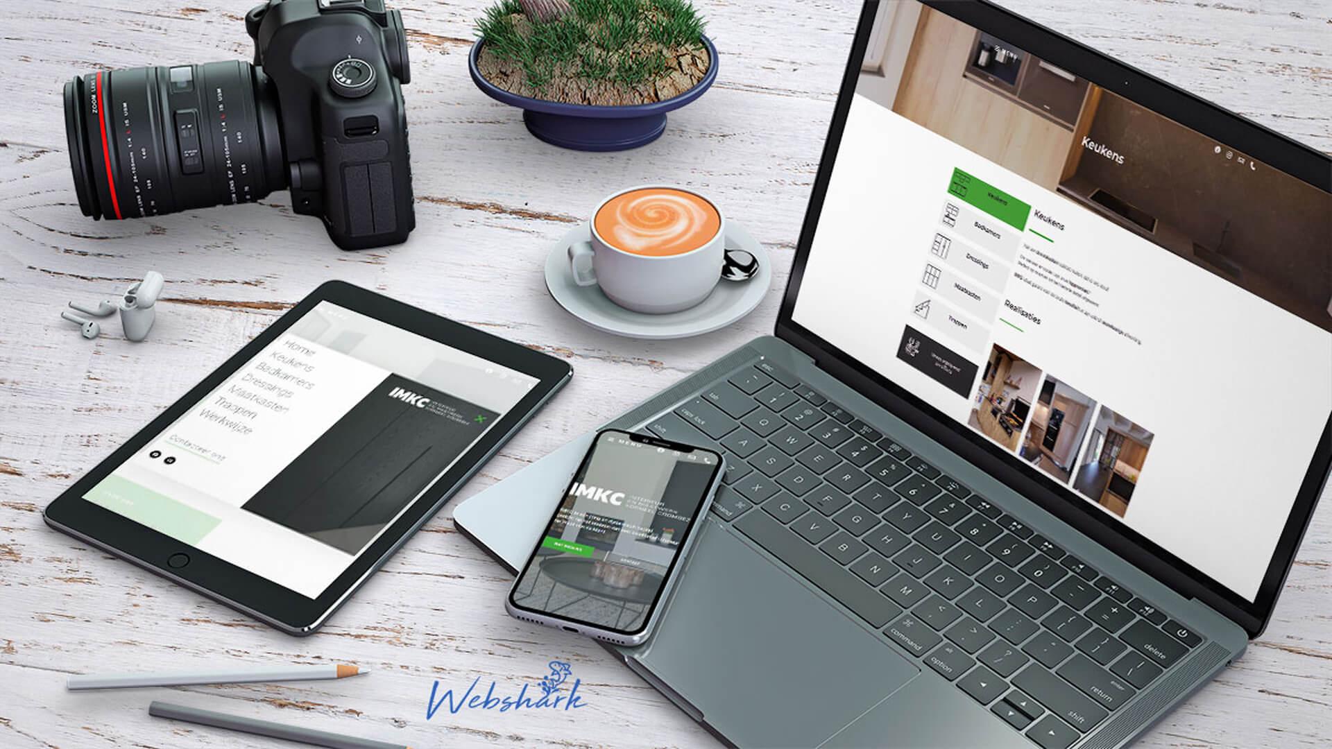 IMKC Webdesign Webshark