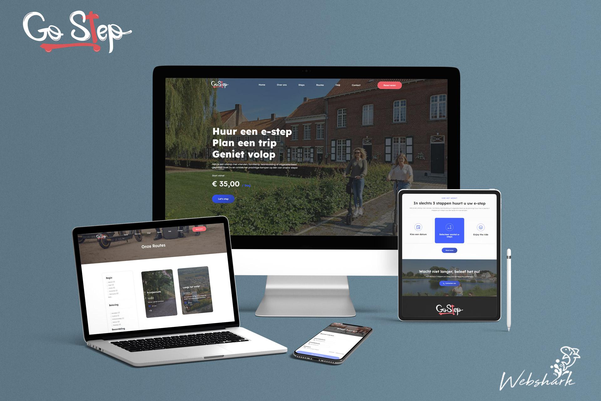 Webshark Go Step Webdesign